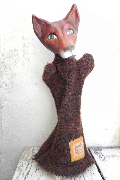 Handpuppe Fuchs